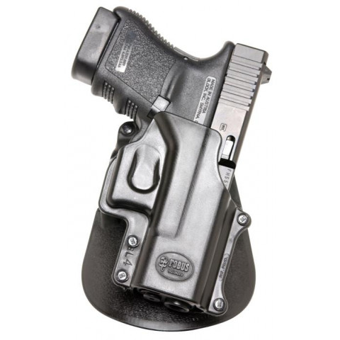 COLDRE FOBUS GL4 GLOCK (21SF/29/30/30SF/39) E SMITH WESSON SIGMA SERIES V -  PADDLE - DESTRO