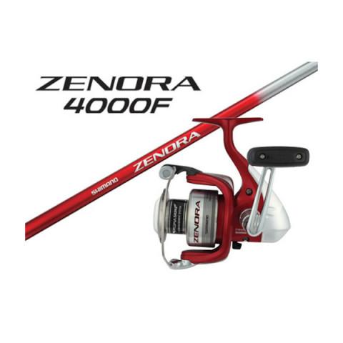 "CONJUNTO / COMBO SHIMANO ZENORA VARA ZEN70M2S 7'0""  + MOLINETE ZENORA 4000F"