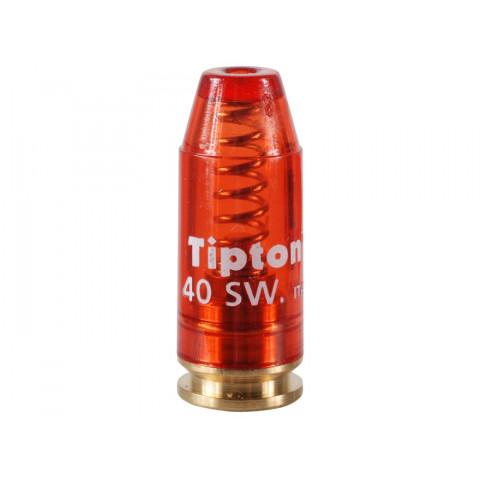 MUNIÇÃO MANEJO-INERTE CAL. 40SW SNAP CAPS TIPTON - 1 unidade