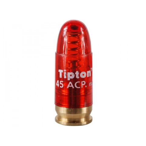 MUNIÇÃO MANEJO INERTE CAL. 45ACP SNAP CAPS TIPTON - 1 unidade