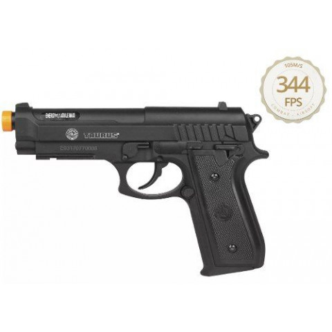 PISTOLA AIRSOFT CO2 TAURUS PT92 ABS BLACK
