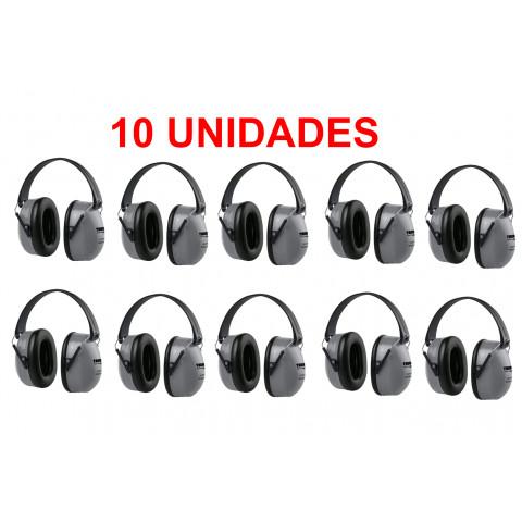 PROMOÇÃO - 10 UNIDADES - ABAFADOR RUÍDOS / PROTETOR AURICULAR  TAURUS 23NRR