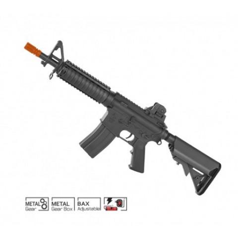 RIFLE AIRSOFT COLT M4A1 CQB-R PRETO - CYBERGUN - BLACK - 6mm ELÉTRICO (110/220 VOLTS)