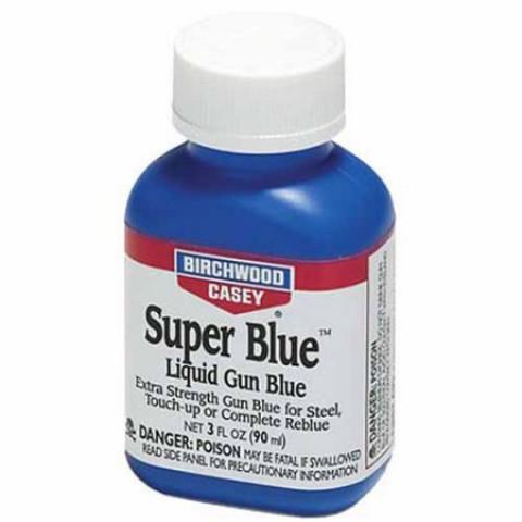 SUPER OXIDAÇÃO A FRIO BICHWOOD CASEY 90ml - SUPER BLUE LIQUID GUN BLUE