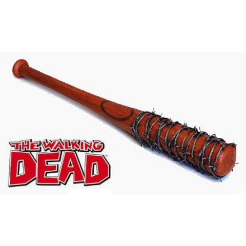 TACO DE BASEBALL DECORATIVO MODELO LUCILLE THE WALKING DEAD