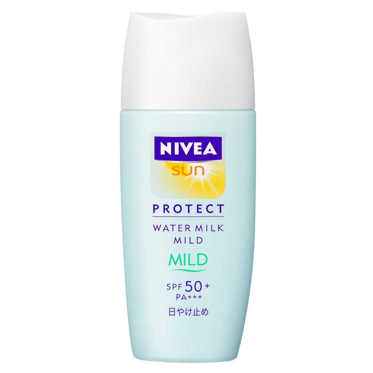 Protetor Solar Facial Nivea Sun Water Milk Mild FPS 50+ PA++