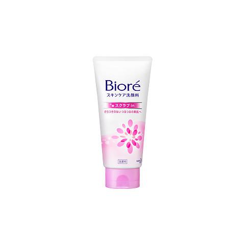 Espuma de Limpeza Facial Bioré Scrub