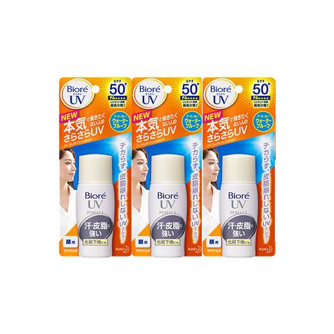 Promoção Protetores Solar Kit Bioré com 3 Unidades