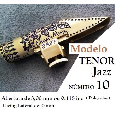 Boquilha Tenor Jazz Número 10