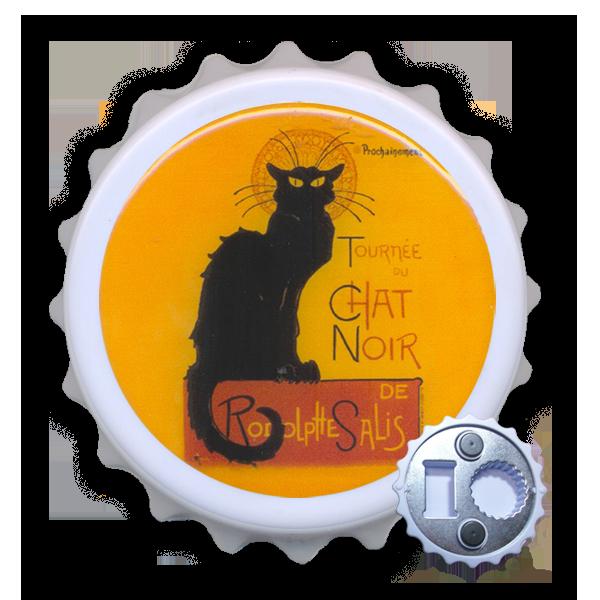 Abridor Resinado com Imã - Chat Noir