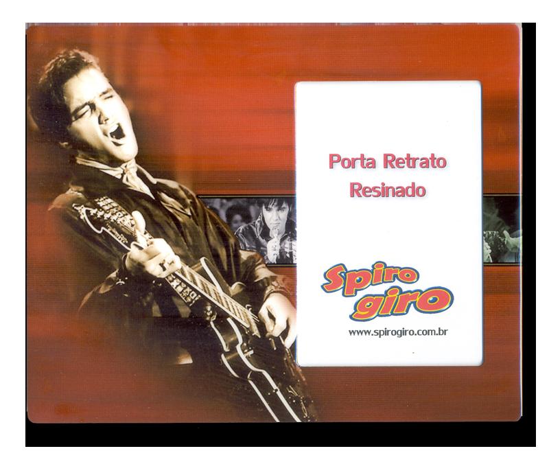 Porta Retrato Resinado Elvis Presley