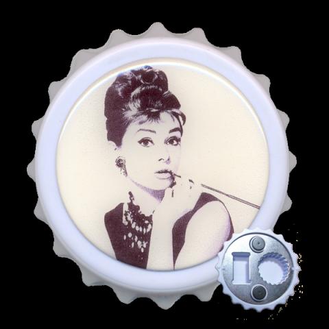 Abridor Resinado com Imã - Audrey Hepburn