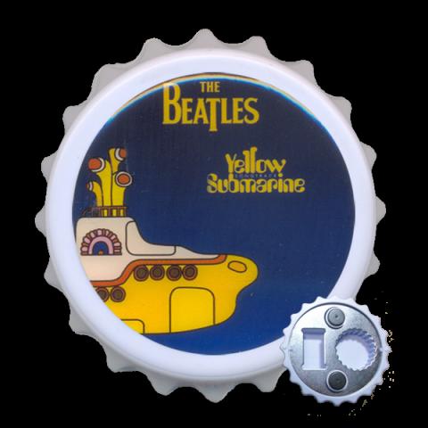 Abridor Resinado com Imã - The Beatles