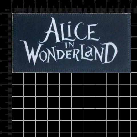 Patch Alice no País das Maravilhas