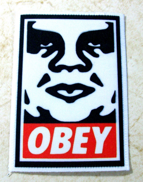 Patch Obey - Andre Giant - Shepard Fairey