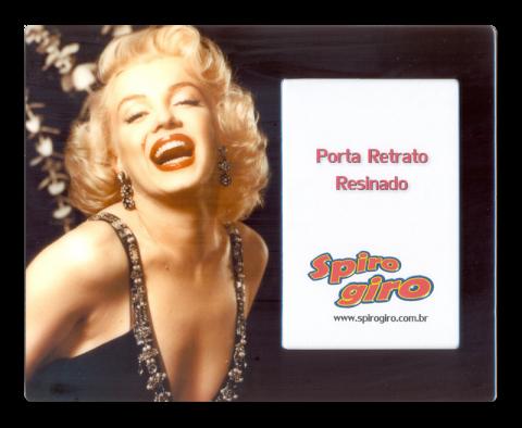 Porta Retrato Resinado Marilyn Monroe