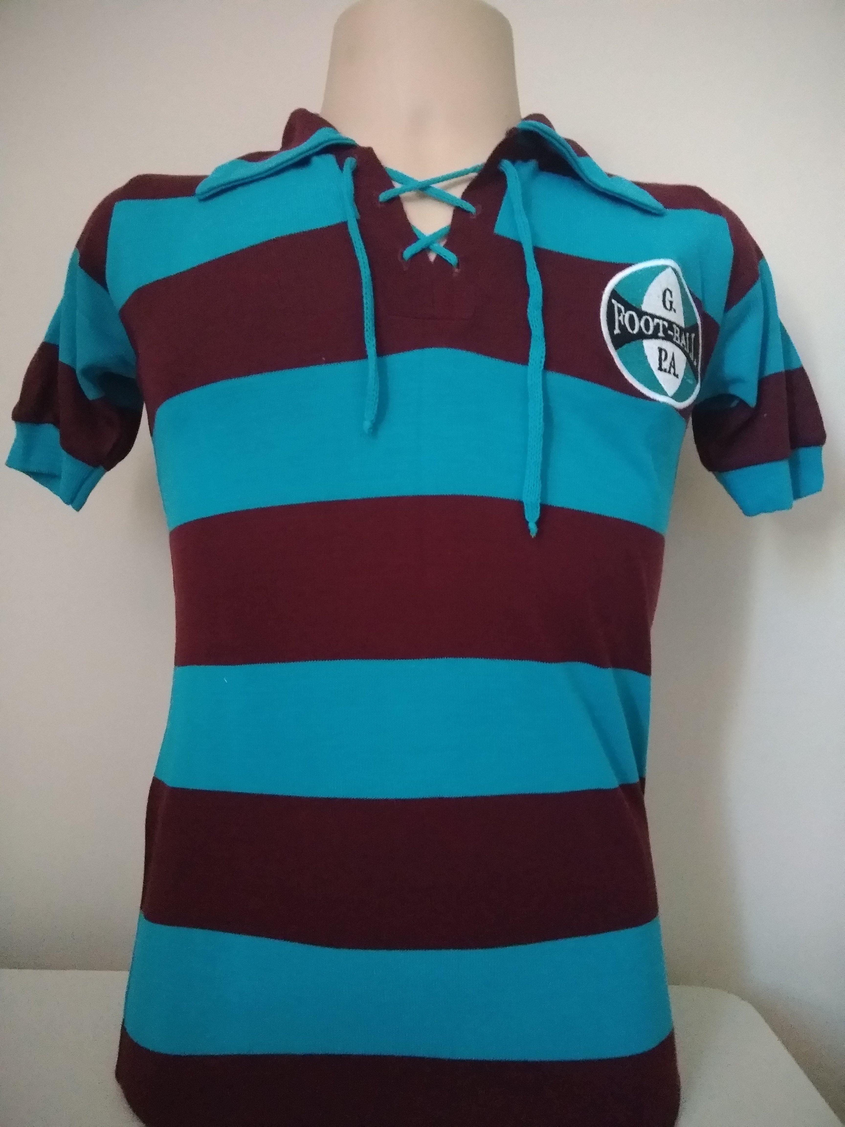 Camisa retrô do Grêmio 1903 - Confecção em até 18 dias