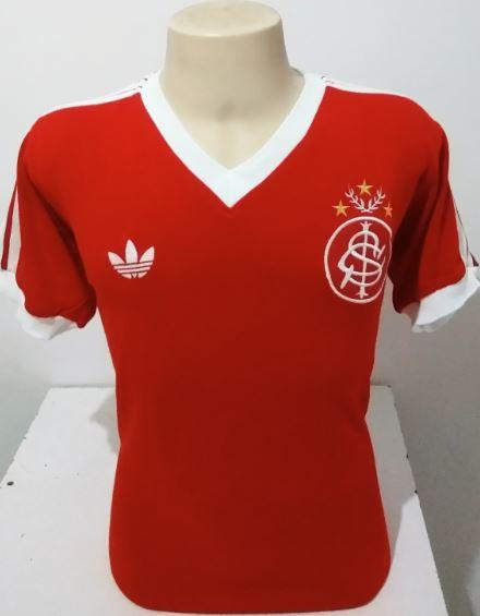 Camisa Retrô Internacional 1981 - Confecção em até 18 dias úteis