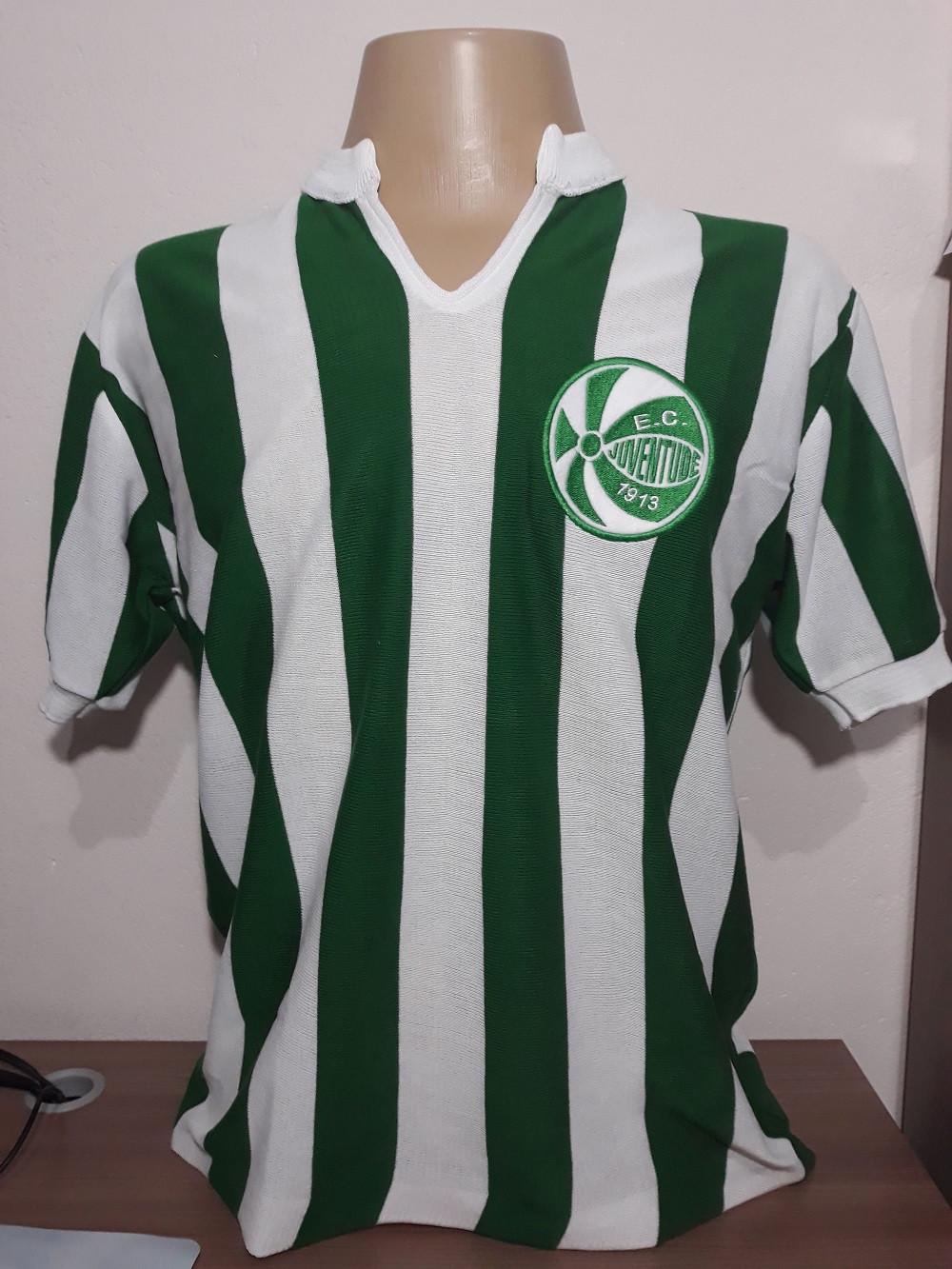 Camisa retrô do Juventude Manga Curta 1980 - Confecção em até 18 dias úteis.