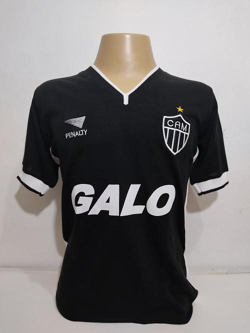 Camisa Retrô do Atlético 2000 Preta - Confecção em até 18 dias úteis.