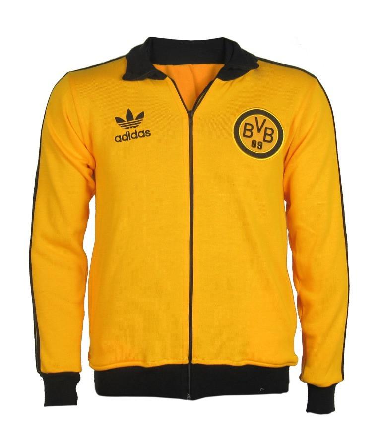 Agasalho retrô do Borussia Dortmund - Confecção em até 18 dias úteis.