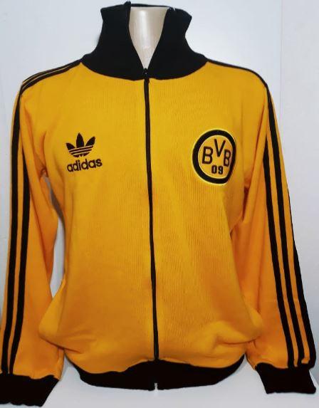 Agasalho retrô do Borussia Dortmund - Confecção em até 25 dias úteis.