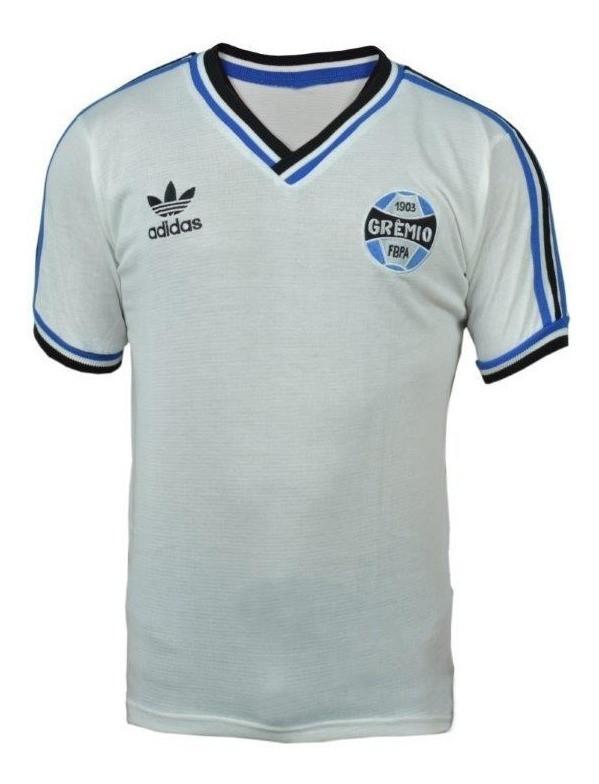 Camisa retrô do Grêmio Adidas - Confecção em até 18 dias uteis