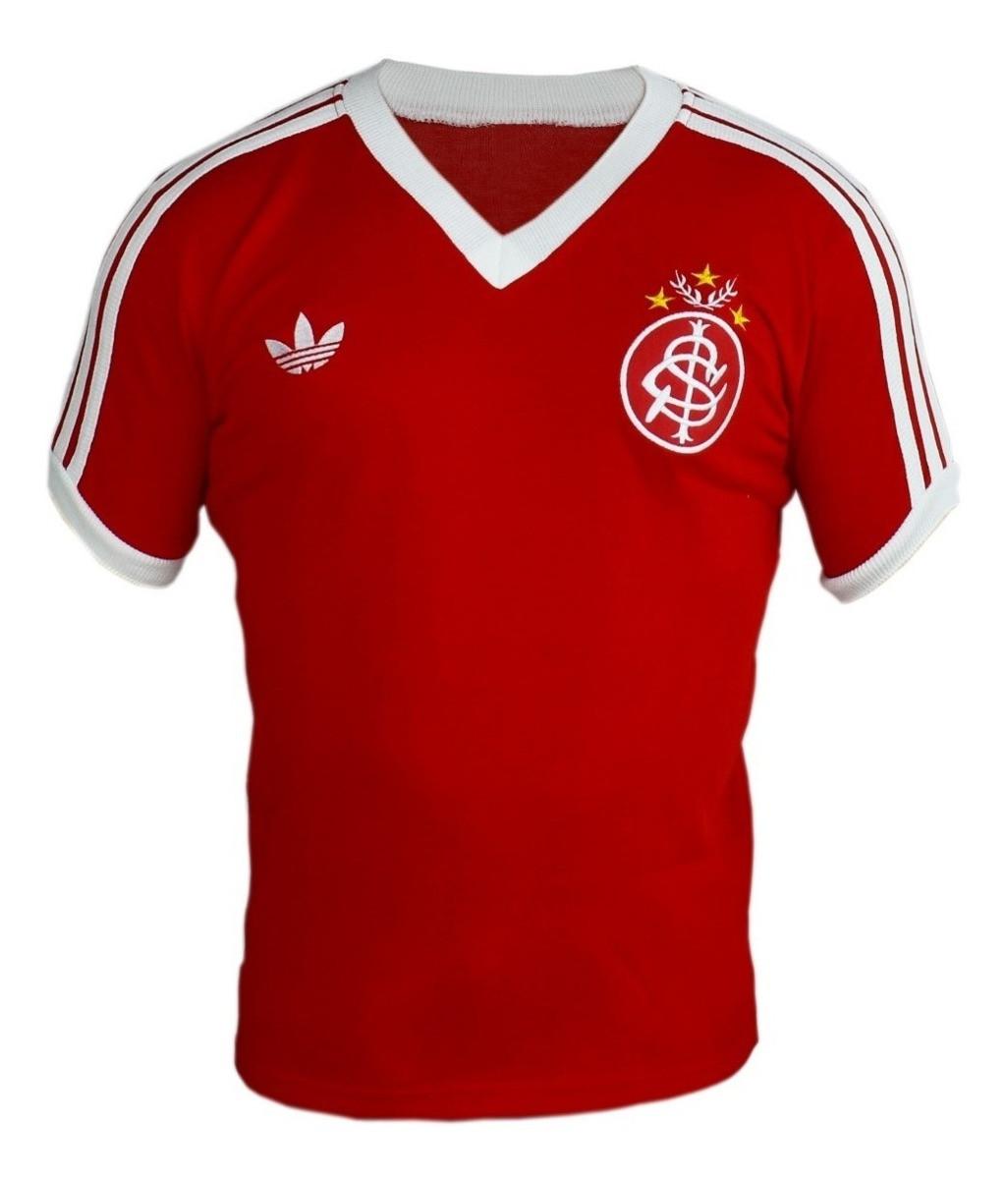 Camisa Retrô Internacional 1980 - Confecção em até 18 dias úteis