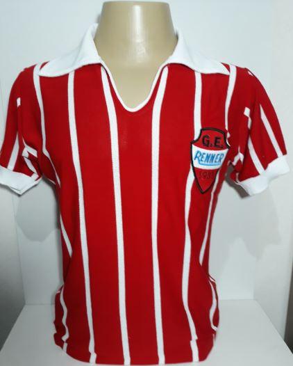 Camisa retrô do Grêmio Esportivo Renner - Confecção em até 18 dias uteis