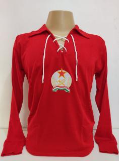 Camisa Retrô da Hungria Década de 50 - Confecção em até 18 dias úteis.