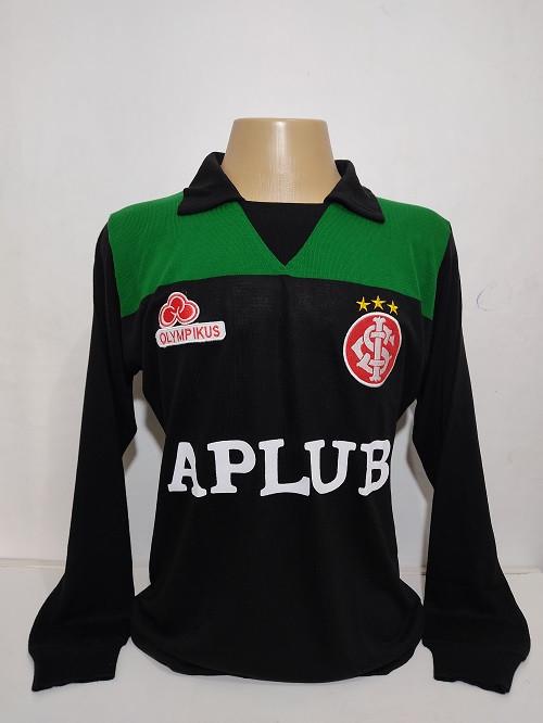 Camisa Retrô do Internacional do Goleiro Taffarel Manga Longa - Confecção em até 18 dias úteis.