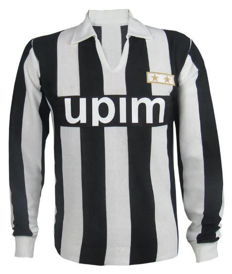 Camisa Retrô do Juventus de Turim anos 80 manga longa - Confecção em até 18 dias úteis.
