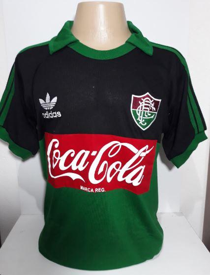 Camisa Retrô do Fluminense de Goleiro coca cola - Confecção em até 18 dias úteis.