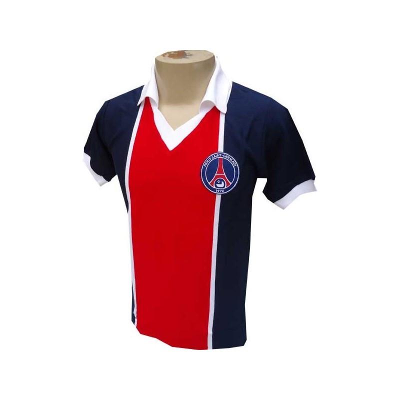 Camisa Retrô do Paris Saint-German - Confecção em até 18 dias úteis.