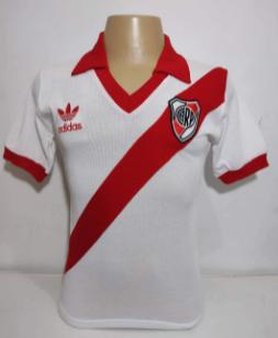 Camisa Retrô do River Plate adidas anos 80 - Confecção em até 18 dias úteis.
