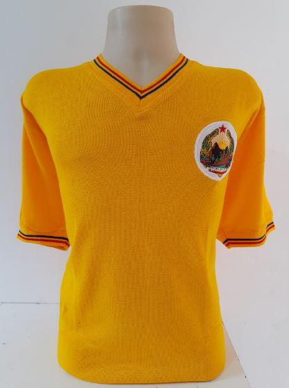 Camisa Retrô da Seleção da Romênia - Confecção em até 18 dias úteis.