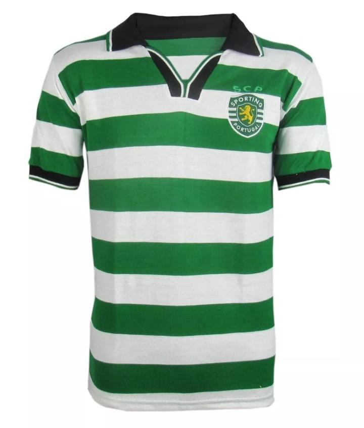 Camisa Retrô do Sporting - Confecção em até 18 dias úteis.