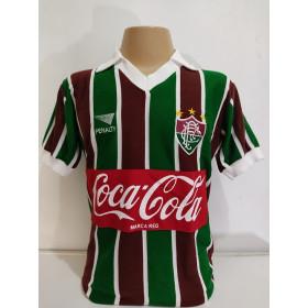 Camisa retrô do Fluminense 1987 - 1990 - Confecção em até 18 dias úteis.