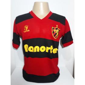 Camisa Retrô Sport Recife Banorte 1989-90  - Confecção em até 18 dias úteis.