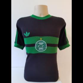 Camisa Retrô do Coritiba 1989 / 90 preto - Confecção em até 18 dias úteis.