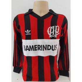Camisa Retrô do Athletico Paranaense 1990 Bamerindus - Confecção em até 18 dias úteis.
