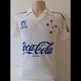 Camisa Retrô do Cruzeiro 1993 Branca - Confecção em até 18 dias úteis.