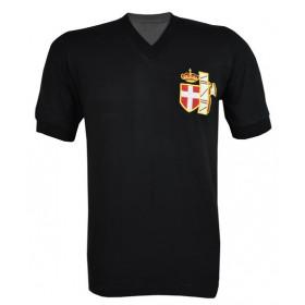 Camisa Retrô da Seleção da Itália 1938 preta - Confecção em até 18 dias úteis.