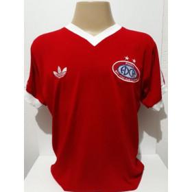 Camisa Retrô do ADC RHODIA 1978 S.J dos Campos vermelha - Confecção em até 18 dias úteis.
