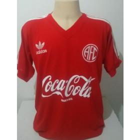 Camisa Retrô do América RJ coca cola - Confecção em até 18 dias úteis.