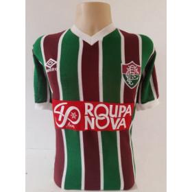 Camisa Retrô do Fluminense Roupa Nova Tricolor - Confecção em até 18 dias úteis.