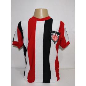 Camisa retrô do Clube Atlético Ferroviario Gola Redonda - Confecção em até 18 dias utéis