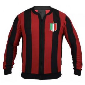 Agasalho retrô do Milan - Confecção em até 18 dias úteis.
