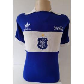 Camisa Retrô do Olaria Azul Escudo no centro - Confecção em até 18 dias úteis.