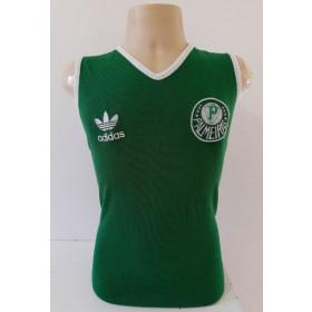 Camisa Retrô do Pameiras Regata Verde - Confecção em até 18 dias úteis.